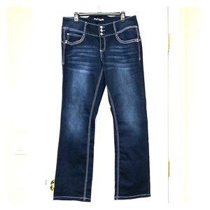 NWOT Ariya dark rinse jeans